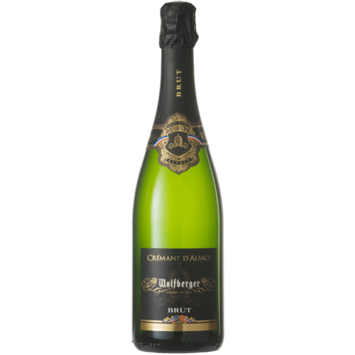 Cremant d'Alsace Wolfberger Chardonnay Med d'or