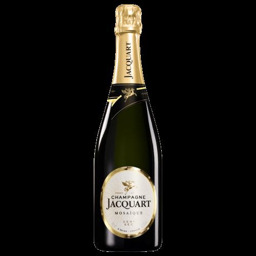 Champagne Jacquart demi-sec