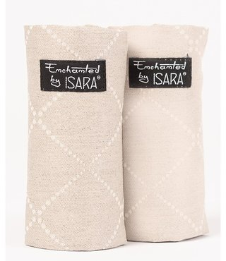 ISARA teething pads Au Naturel