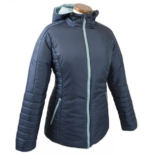 Mamalila Quilted Winter Jacket Doveblue maat M