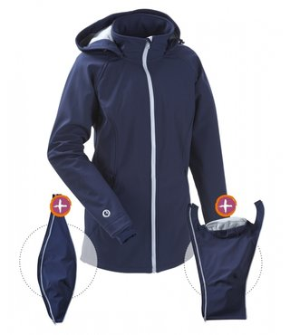 Mamalila Softshell Navy / Ice