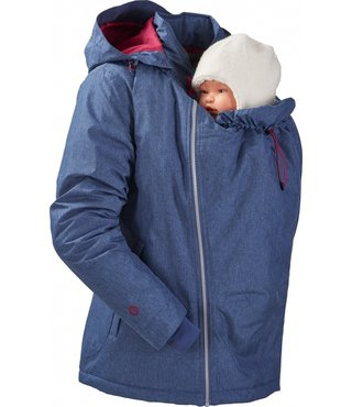 Mamalila Winter Babywearing Jacket Ice blue