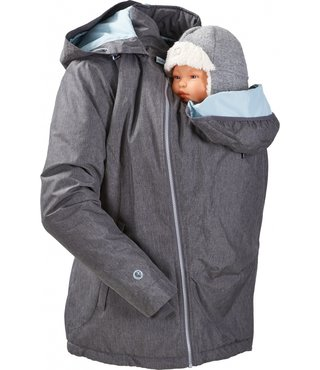 Mamalila Winter Babywearing Jacket Ice grey