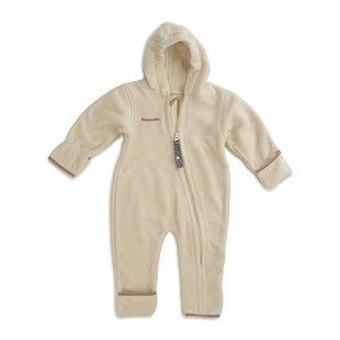 Hoppediz Fleece-overall creme-beige