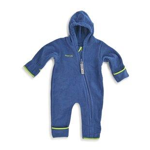 Hoppediz Fleece-overall marine-groen