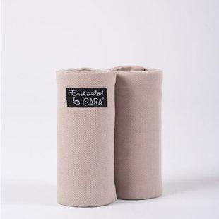 ISARA teething pads Caffe Latte