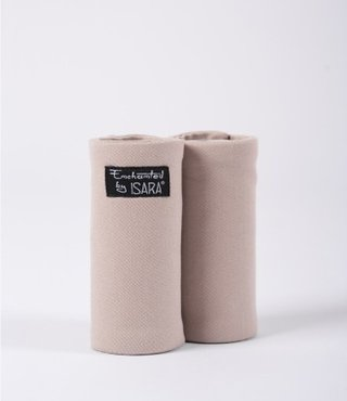 ISARA teething pads Caffe Latte