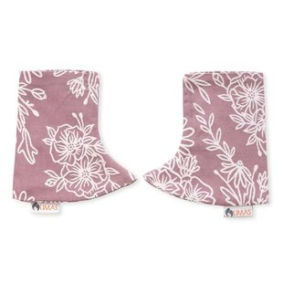 Limas teething pads Blossom Rosewood