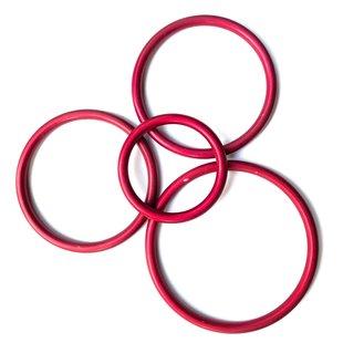 Slingringen rood mat
