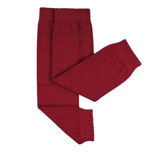 Beenwarmers Merinowol rood