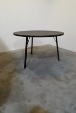 opsmuk ronde tafel / 120 / zwart