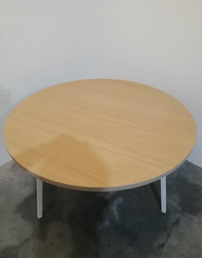 opsmuk ronde tafel / 120 / wit