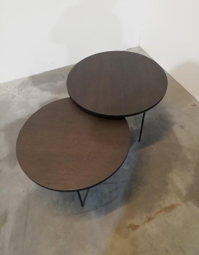 opsmuk set ronde salontafels