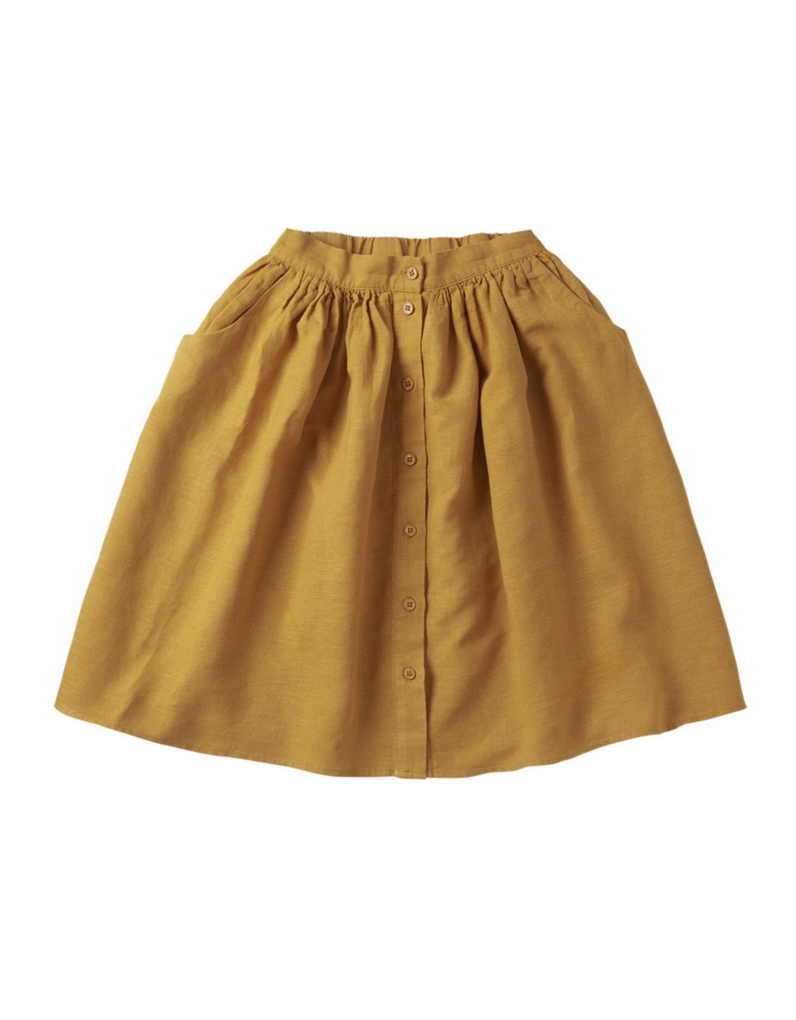 Mingo Linen skirt Spruce Yellow
