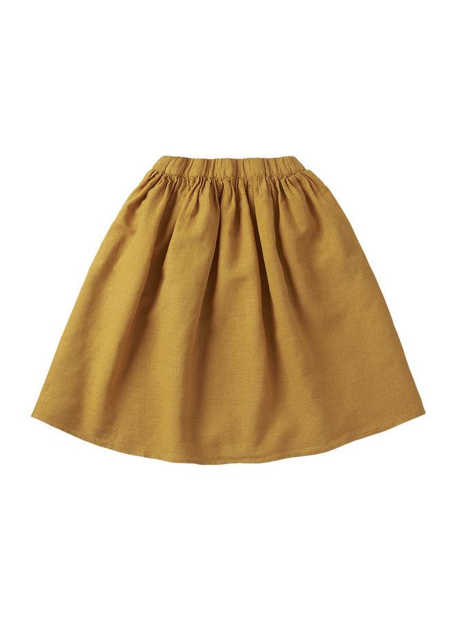 Linen skirt Spruce Yellow