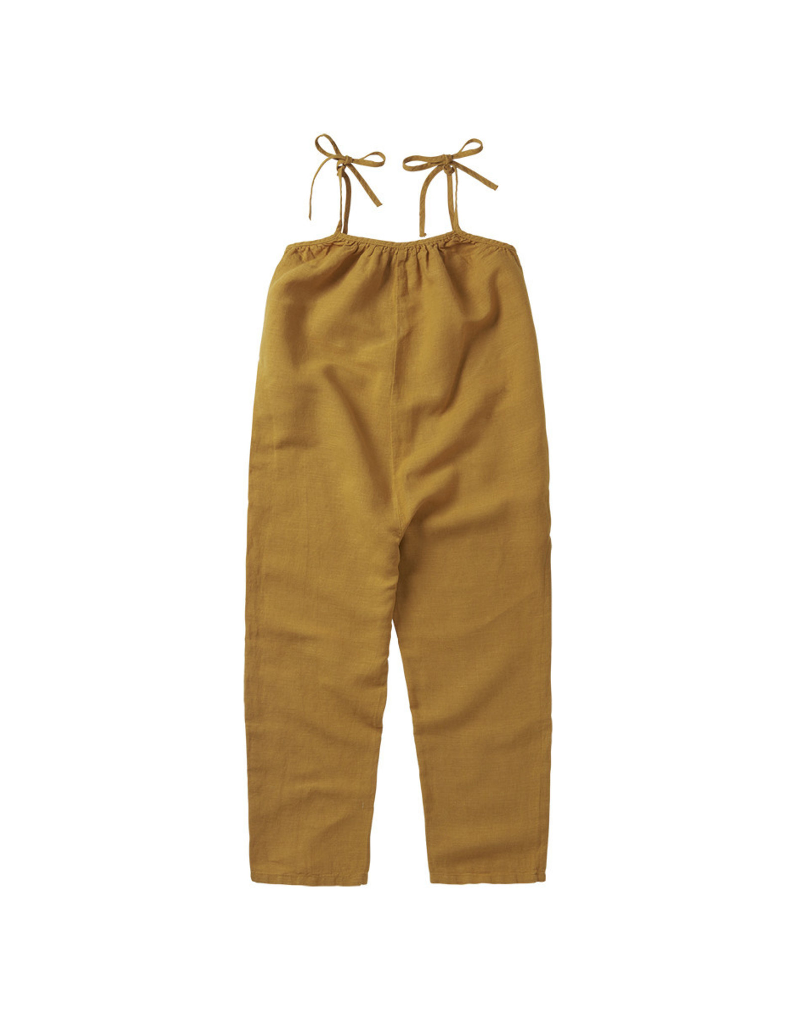 Mingo Linen dungaree spruce yellow