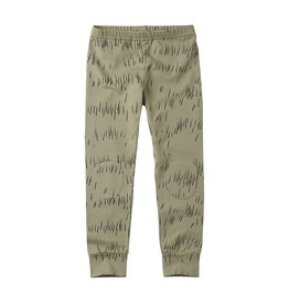 Mingo legging grass print Oak