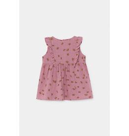 Bobo Choses Bobo Choses all over Daisy ruffle dress