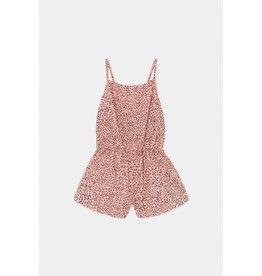 Bobo Choses Bobo Choses all over Leopard woven Playsuit