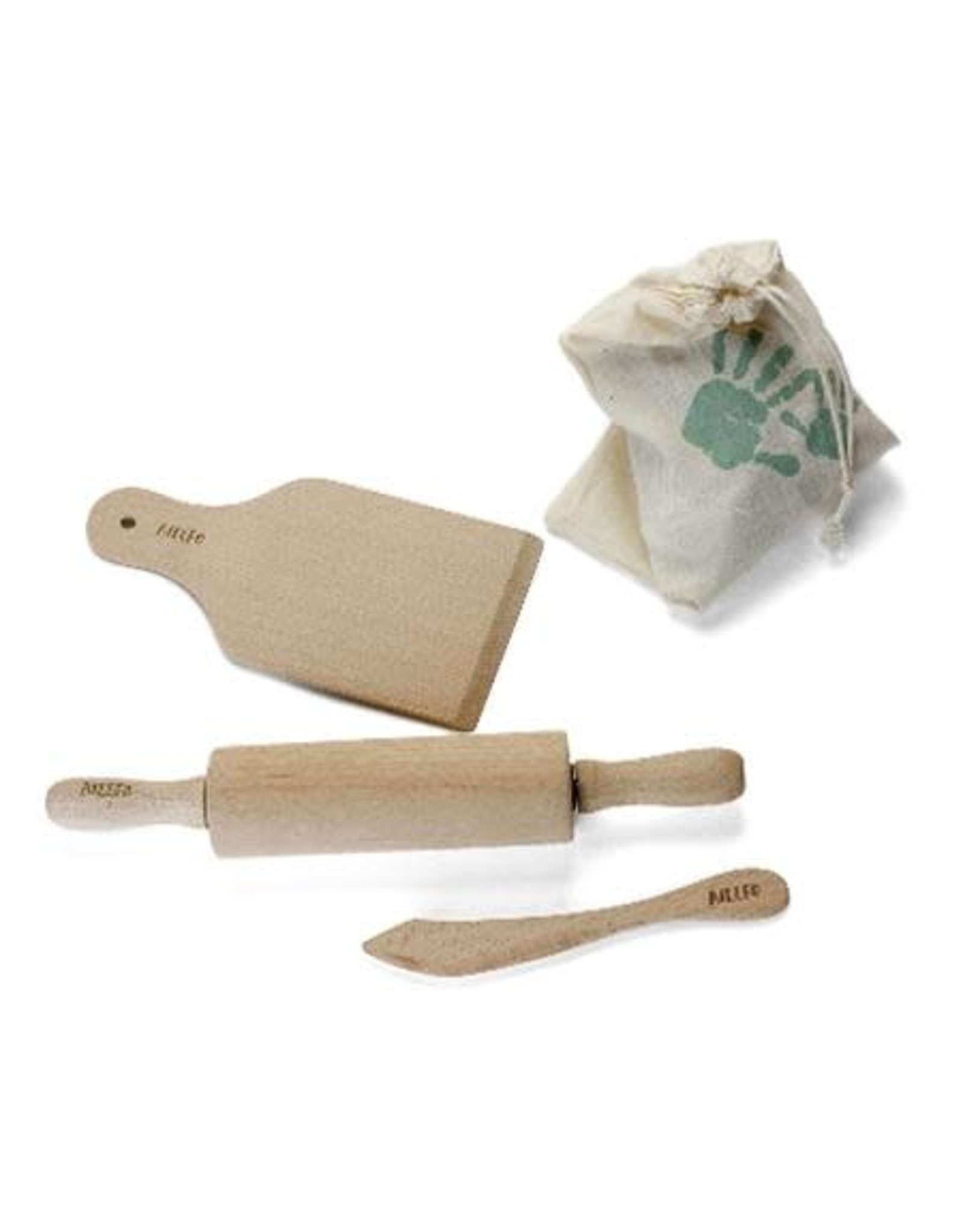 Ailefo Ailefo houten toolset voor klei