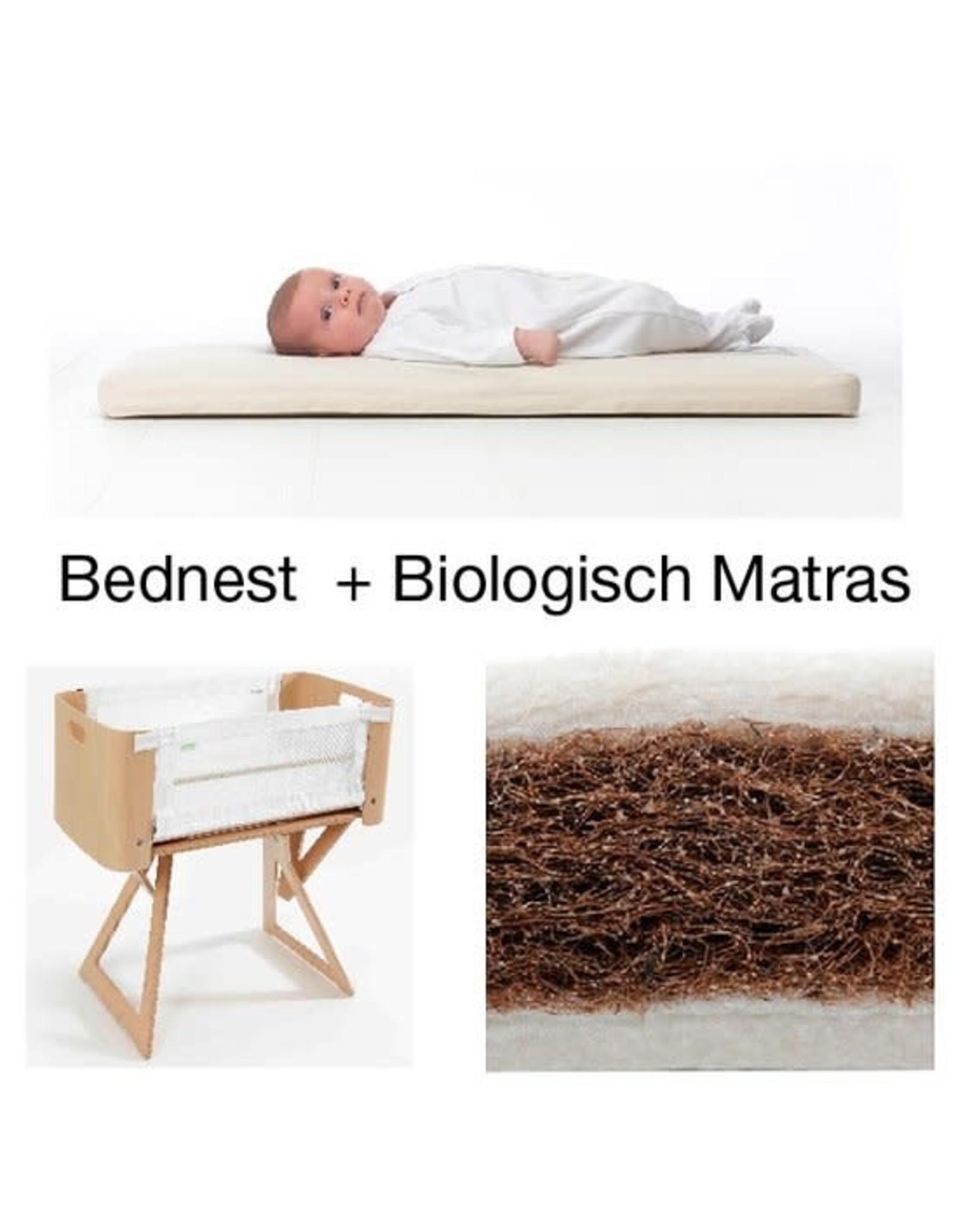 Bednest Bednest met biologisch matras