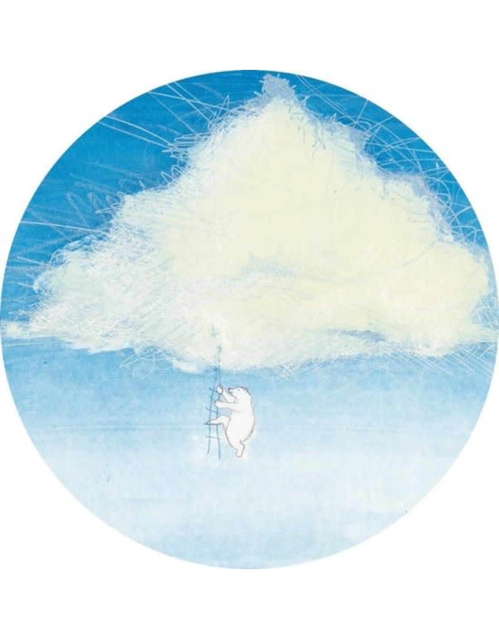 Kek Amsterdam Behangcirkel Climbing the Clouds, ø 190 cm