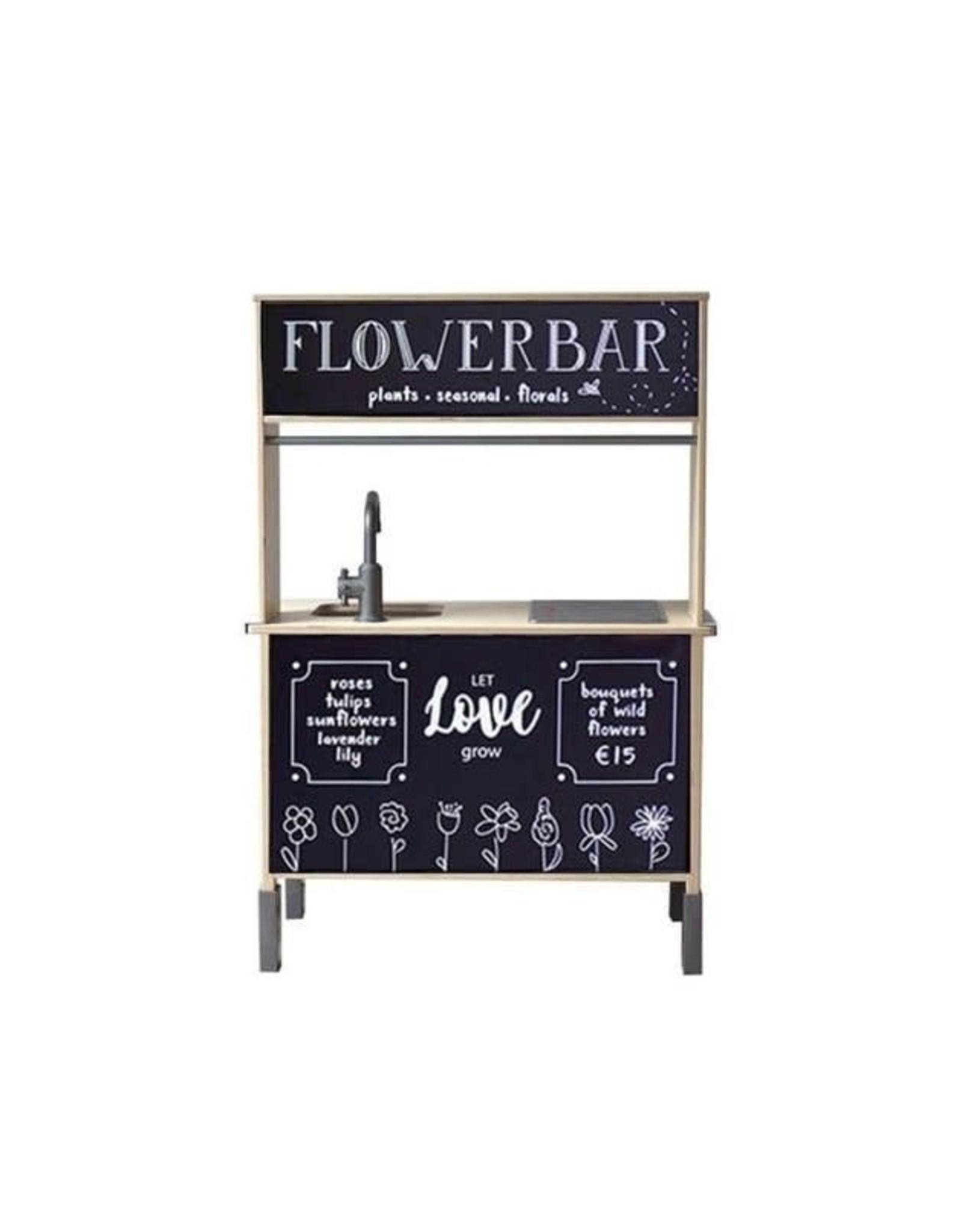 Stickerset voor het Ikea Duktig keukentje, flowerbar