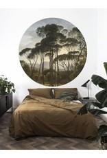 Kek Amsterdam Behangcirkel Golden Age Landscape, ø 190 cm