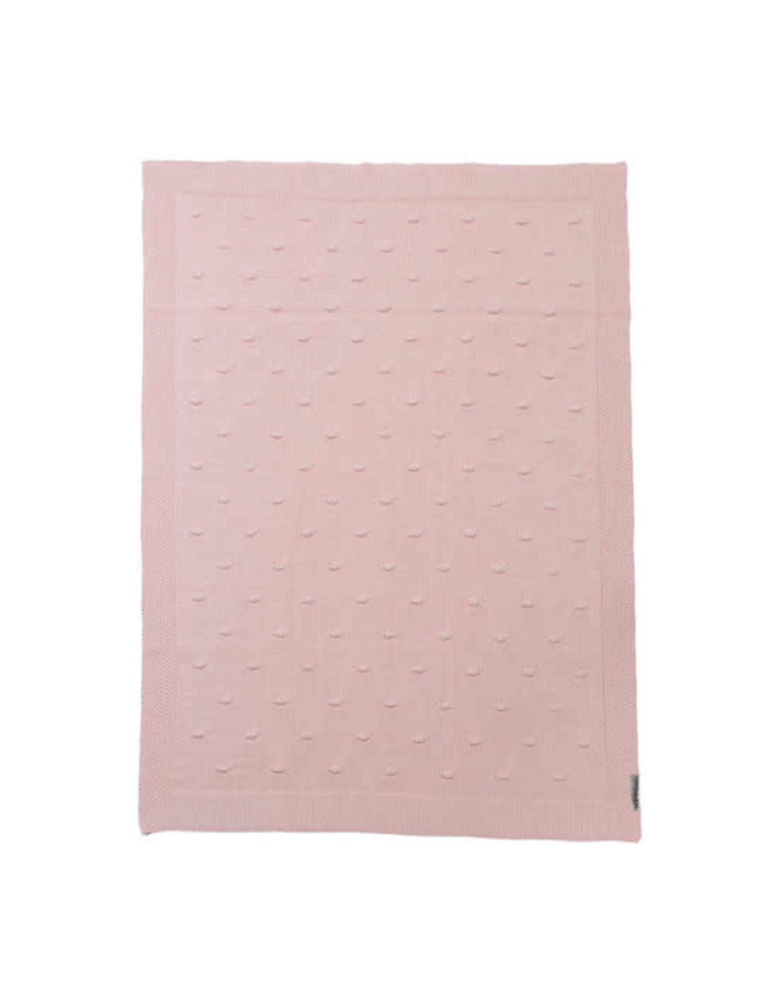 Meyco Knots deken pink