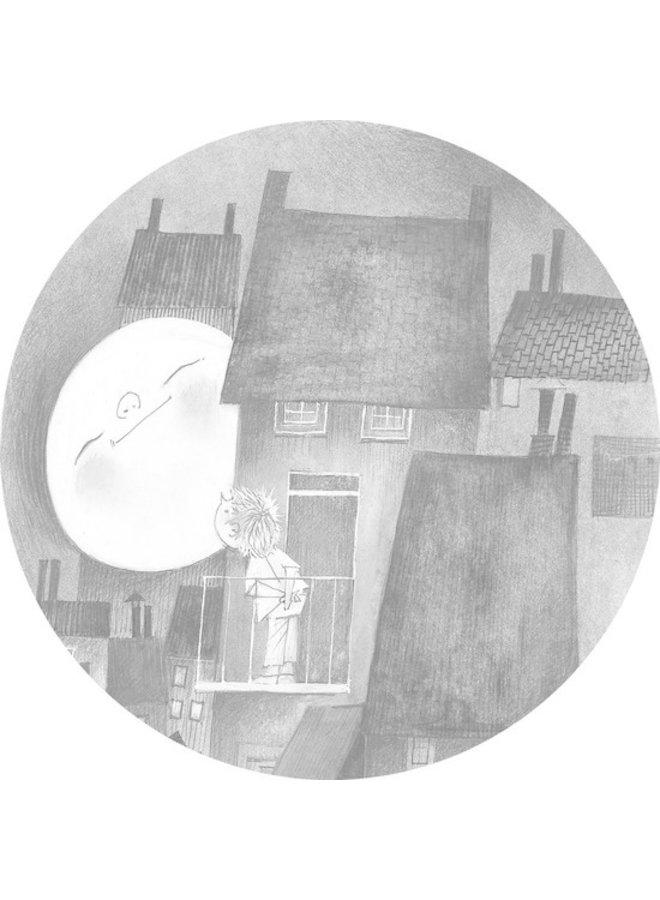Behangcirkel Moonlight, ø 190 cm