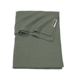 Meyco Deken basic knit Forest Green (100cm-150cm)