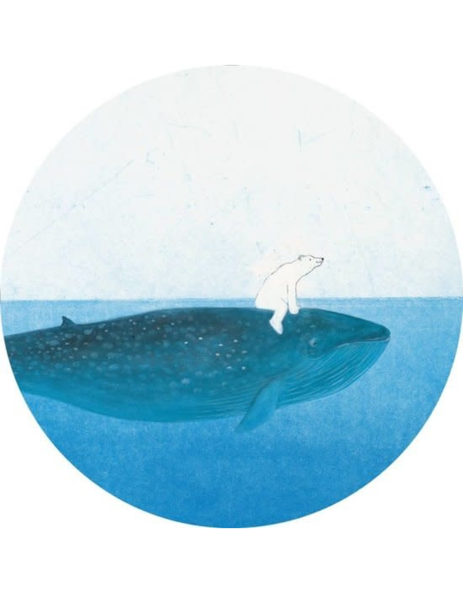 Kek Amsterdam Behangcirkel Riding the Whale, ø 190 cm