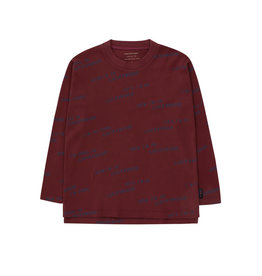 Tiny Cottons Longsleeve luckywood aubergine-navy