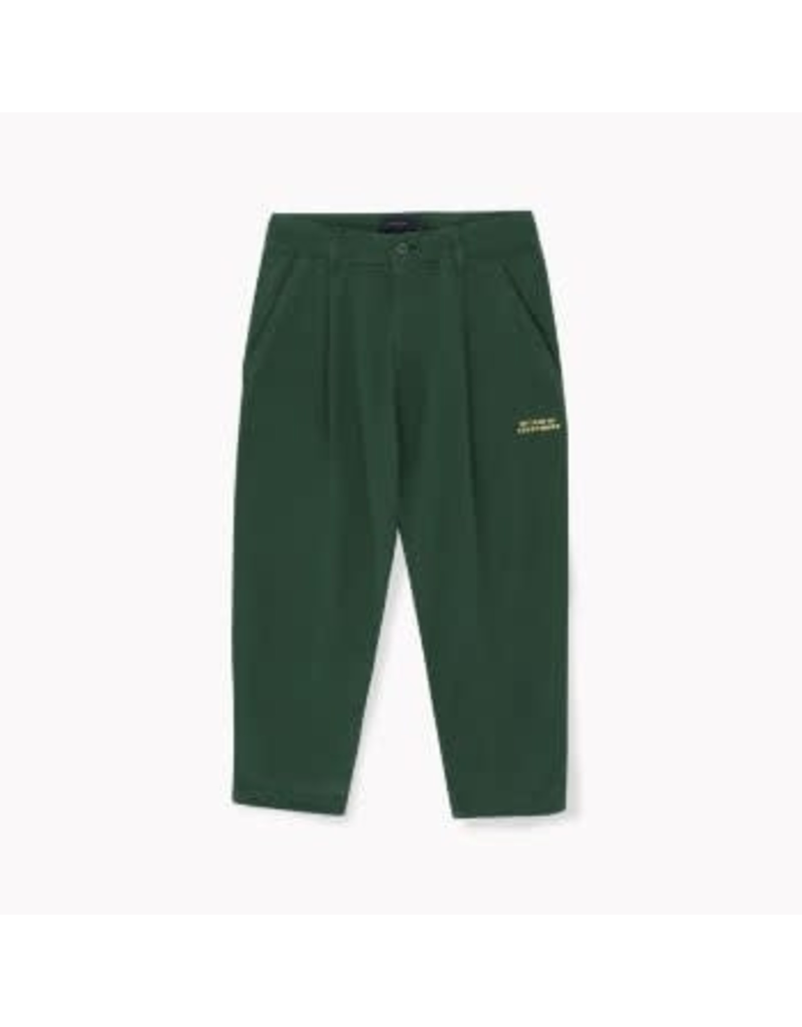 Tiny Cottons Bottle Green LW Citizen Pleated Pant