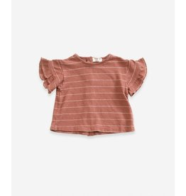 Play Up Striped jersey t-shirt