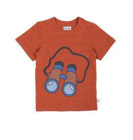 CarlijnQ Binocular - t-shirt + print