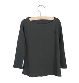 Little Hedonist Shirt Pirate Black rib