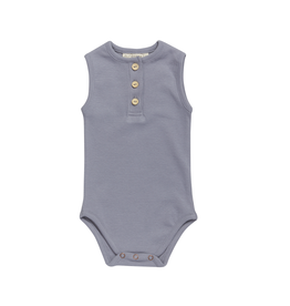 Blossom Kids Body tank top - soft rib - Blue Grey