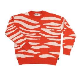 CarlijnQ knit sweater tiger