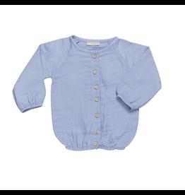 Blossom Kids Puffy blouse muslin - Lilac blue