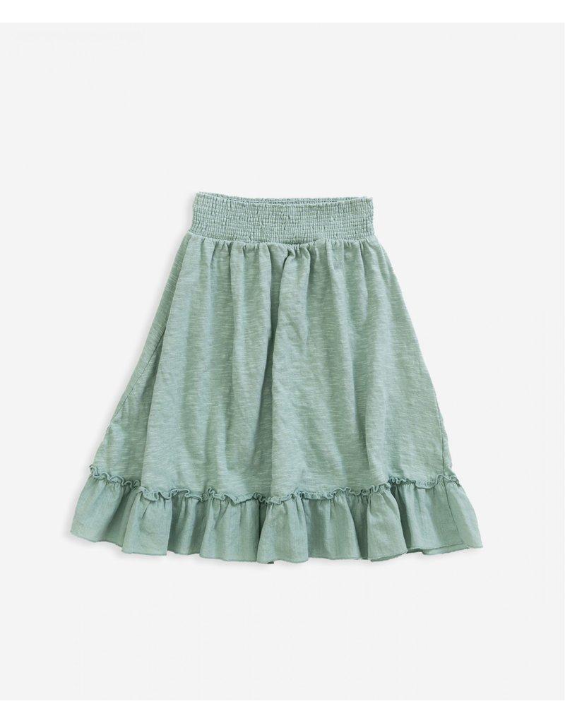 Play Up Skirt organic cotton weaving