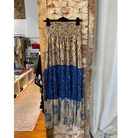 Sissel Edelbo Maxi skirt azul