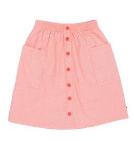CarlijnQ Parrot midi button skirt