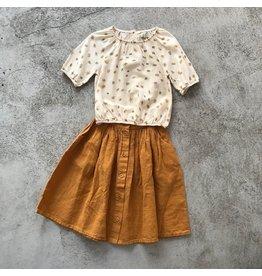 Kleding setjes linen skirt Mingo & daisy blouse Bobo Choses