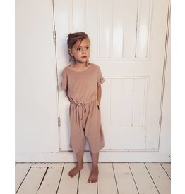 Daily Brat Molly towel jumpsuit dusty lilac