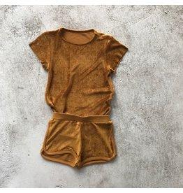 Kleding setjes Little Hedonist short & t-shirt