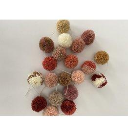 Jibbejebba pompom-slinger (nature pink)