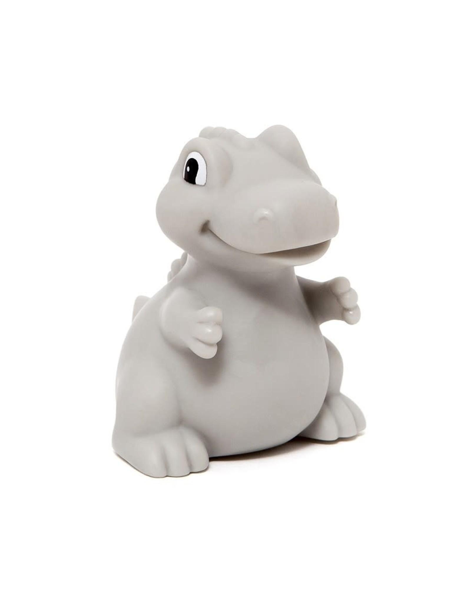 Petit Monkey Dino Night Light T-rex grey