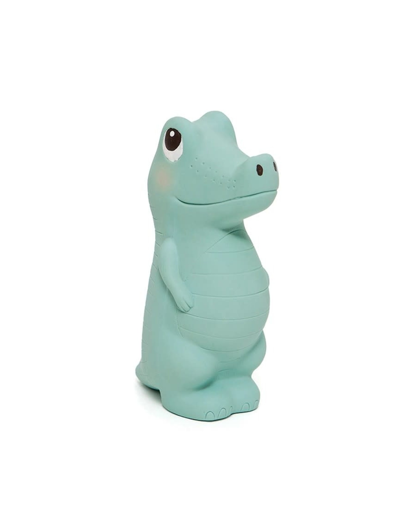 Petit Monkey 100% natural rubber toy Charlie the Crocodile
