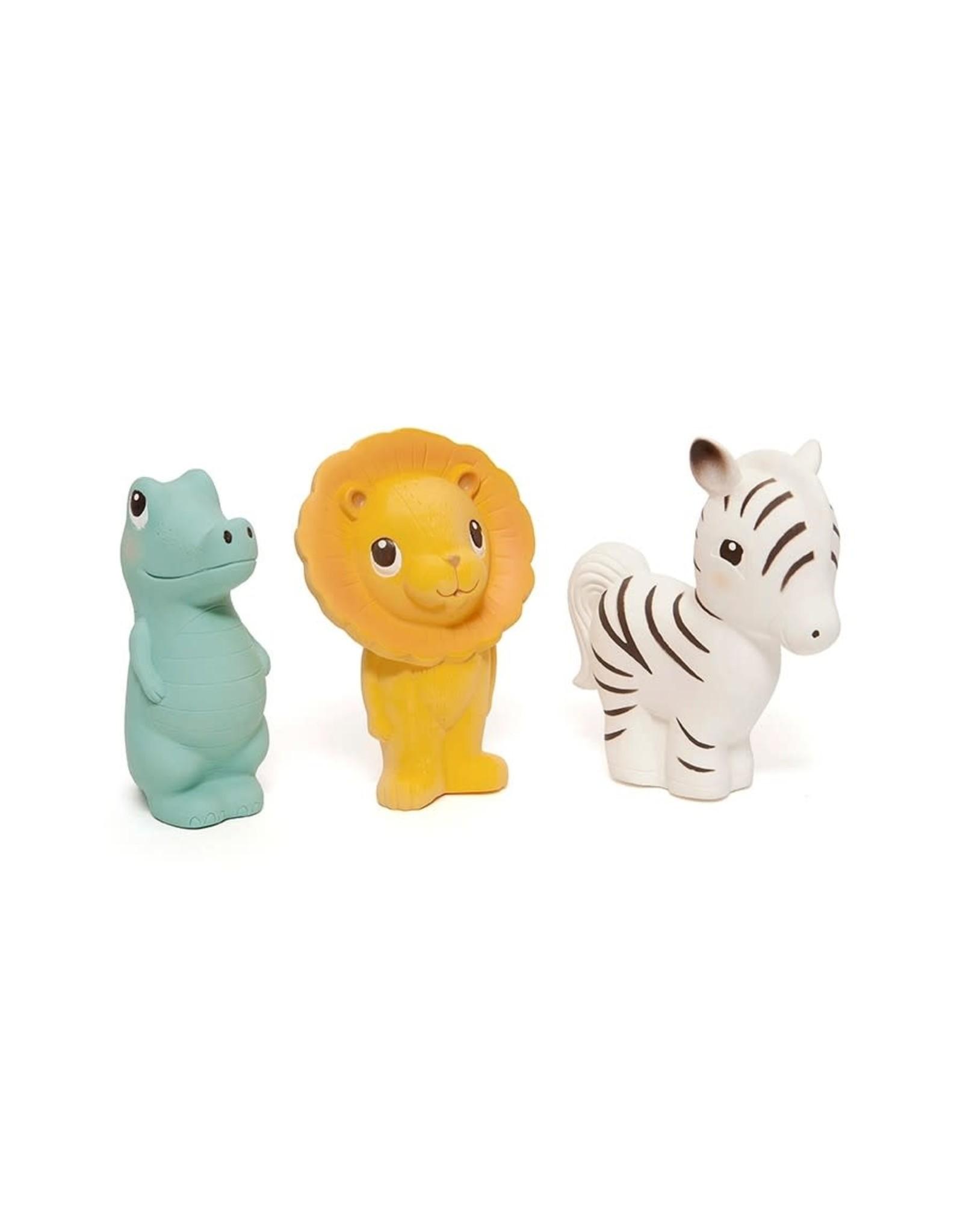 Petit Monkey 100% natural rubber toy Zippy the Zebra